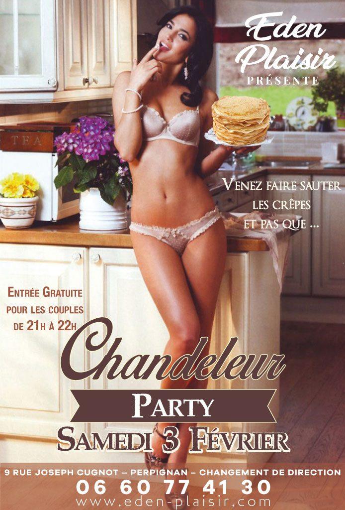 Soirée Chandeleur Party eden plaisir perpignan