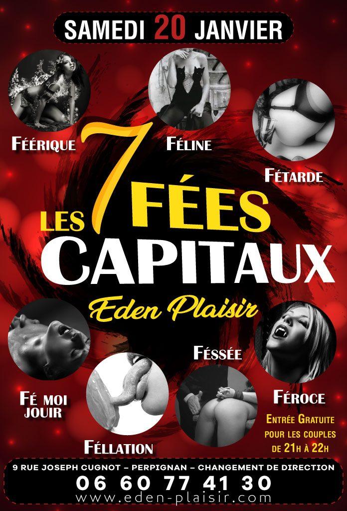 Les 7 fées capitaux eden plaisir perpignan