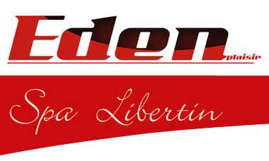 Logo eden plaisir, spa libertin, eden plaisir spa libertin, eden plaisir spa, eden plaisir sauna échangiste